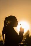 αγαπημένο καλοκαίρι εποχής κοριτσιών Στοκ Εικόνες