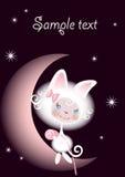 αγαπημένο κορίτσι γατών ελεύθερη απεικόνιση δικαιώματος