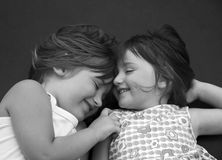 αγαπώντας αδελφή Στοκ φωτογραφία με δικαίωμα ελεύθερης χρήσης