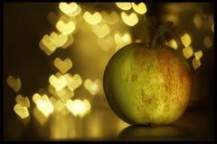 Αγαπώντας μήλα Στοκ φωτογραφία με δικαίωμα ελεύθερης χρήσης