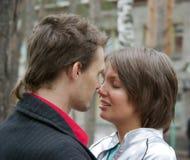 αγαπώντας νεολαίες ζε&upsilon Στοκ φωτογραφία με δικαίωμα ελεύθερης χρήσης