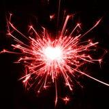 αγαπώ τα sparklers Στοκ φωτογραφία με δικαίωμα ελεύθερης χρήσης