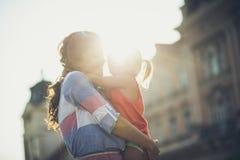 Αγαπώ τις στιγμές μας στοκ εικόνες