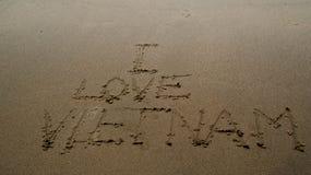 Αγαπώ το Βιετνάμ Στοκ Φωτογραφίες