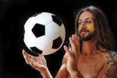 Αγαπώ το ποδόσφαιρο Στοκ Εικόνες