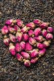 Αγαπώ το τσάι Στοκ Εικόνες