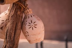 Αγγειοπλαστική αργίλου σε Nizwa, Ομάν στοκ φωτογραφίες