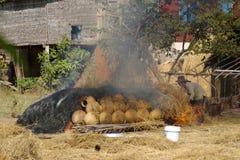 αγγειοπλαστική πυρκαγ Στοκ φωτογραφίες με δικαίωμα ελεύθερης χρήσης