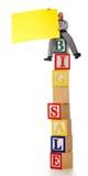 αγγελία ψηλή Στοκ φωτογραφία με δικαίωμα ελεύθερης χρήσης