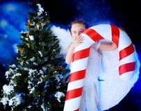 αγγελικό αγόρι Στοκ φωτογραφίες με δικαίωμα ελεύθερης χρήσης