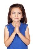 αγγελικό κορίτσι λίγα Στοκ Εικόνα
