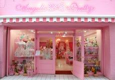 αγγελικό όμορφο κατάστημ&a Στοκ φωτογραφία με δικαίωμα ελεύθερης χρήσης