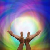 Αγγελική θεραπεύοντας ενέργεια Στοκ Φωτογραφία