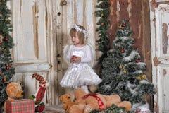 Αγγελικό κορίτσι Στοκ Εικόνες
