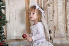 Αγγελικό κορίτσι Στοκ Εικόνα