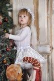 αγγελικό κορίτσι Στοκ Φωτογραφίες