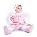 Αγγελικό μωρό Στοκ Φωτογραφία