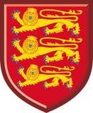 Αγγλία. Βασιλικά όπλα Στοκ εικόνες με δικαίωμα ελεύθερης χρήσης