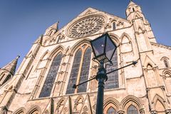 Αγγλική κληρονομιά - ρωμαϊκός γοτθικός καθεδρικός ναός στοκ φωτογραφίες