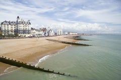 αγγλική παραλία στοκ εικόνες με δικαίωμα ελεύθερης χρήσης