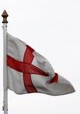 αγγλική σημαία Στοκ Φωτογραφία