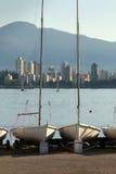 αγγλική sailboat κόλπων αποθήκευση Βανκούβερ Στοκ φωτογραφία με δικαίωμα ελεύθερης χρήσης