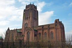 Αγγλικανικός καθεδρικός ναός του Λίβερπουλ Στοκ Φωτογραφίες