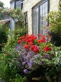 αγγλικός κήπος εξοχικών &s Στοκ εικόνα με δικαίωμα ελεύθερης χρήσης