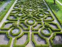 Αγγλικός κήπος κόμβων Tudor στοκ φωτογραφίες με δικαίωμα ελεύθερης χρήσης