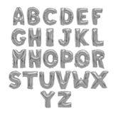 Αγγλικό γκρι αλφάβητου, χρώμιο στοκ φωτογραφία με δικαίωμα ελεύθερης χρήσης
