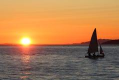 αγγλικό ηλιοβασίλεμα Β&a Στοκ εικόνες με δικαίωμα ελεύθερης χρήσης