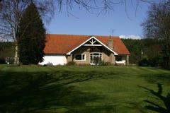 αγγλικό σπίτι Στοκ φωτογραφία με δικαίωμα ελεύθερης χρήσης