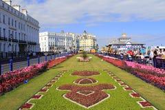 Αγγλία Eastnourne κήπων ταπήτων Στοκ φωτογραφία με δικαίωμα ελεύθερης χρήσης