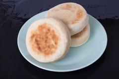 αγγλικά muffins στοκ εικόνα