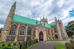 Αγγλική εκκλησία κοινοτήτων στο Γκρέιτ Γιάρμουθ - την Αγγλία Στοκ Εικόνες