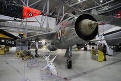 Αγγλική ηλεκτρική αστραπή στο μουσείο αέρα Duxford Στοκ εικόνα με δικαίωμα ελεύθερης χρήσης