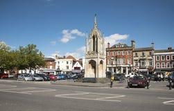 Αγγλική πόλη αγοράς Devizes Wiltshire UK Στοκ εικόνα με δικαίωμα ελεύθερης χρήσης