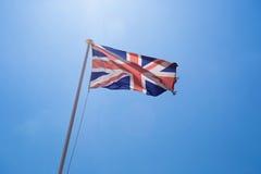 αγγλική σημαία Στοκ Φωτογραφίες