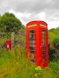 Αγγλική τηλεφωνική καμπίνα Στοκ εικόνα με δικαίωμα ελεύθερης χρήσης
