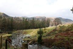 Αγγλική φυσική άποψη περιοχής λιμνών στοκ εικόνες με δικαίωμα ελεύθερης χρήσης