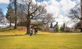 Αγγλική φύση Πάρκο στο χρόνο άνοιξη του Σάσσεξ Στοκ φωτογραφίες με δικαίωμα ελεύθερης χρήσης