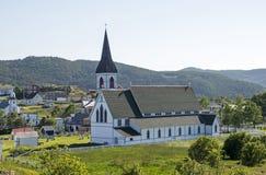 Αγγλικανική Εκκλησία στη νέα γη Στοκ Εικόνα