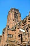 αγγλικανικός καθεδρικός ναός Λίβερπουλ Στοκ φωτογραφίες με δικαίωμα ελεύθερης χρήσης