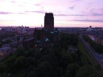 αγγλικανικός καθεδρικός ναός Λίβερπουλ Στοκ εικόνα με δικαίωμα ελεύθερης χρήσης