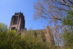 Αγγλικανικός καθεδρικός ναός του Λίβερπουλ Στοκ Εικόνες