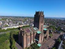 Αγγλικανικός καθεδρικός ναός Liverpools Στοκ φωτογραφία με δικαίωμα ελεύθερης χρήσης