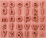 Αγγλικός αλφαβητικός πεζός, υπόβαθρο στοκ εικόνες