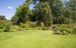 Αγγλικός κήπος συνόρων Στοκ φωτογραφία με δικαίωμα ελεύθερης χρήσης