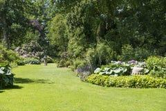 Αγγλικός κήπος συνόρων Στοκ Φωτογραφία