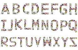 Αγγλικό αλφάβητο. Στοκ φωτογραφία με δικαίωμα ελεύθερης χρήσης